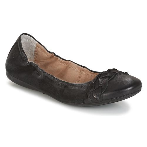 Shoes Women Flat shoes Dream in Green TIRIOLA Black