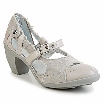 Shoes Women Heels Pataugas FLORA Grey