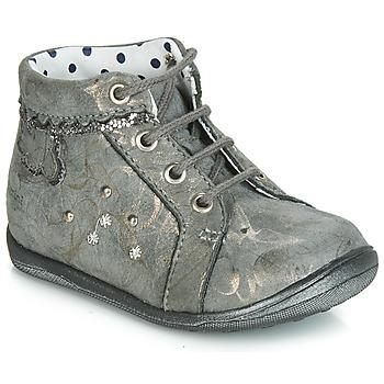 Shoes Girl Hi top trainers Catimini FANETTE Grey