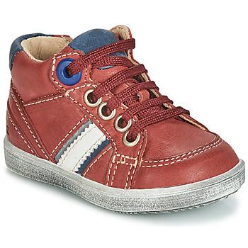 Shoes Boy Hi top trainers GBB ANGELITO Bordeaux