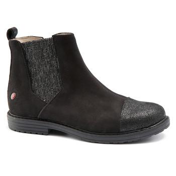 Shoes Girl Mid boots GBB LEONTINA Nuc / Black
