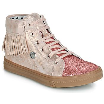Shoes Girl Hi top trainers Catimini LOULOU Pink