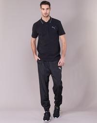 Clothing Men Tracksuit bottoms Puma ACTIVE WOVEN PANT Black
