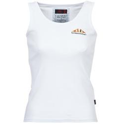 Clothing Women Tops / Sleeveless T-shirts Les voiles de St Tropez BLENNIE White