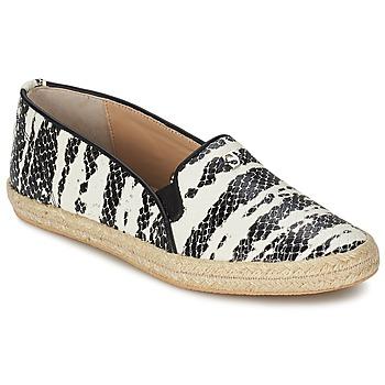 Shoes Women Slip ons SuperTrash ALISA Serpent / Black / White