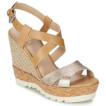 Shoes Women Sandals Bullboxer GLADOU Silver