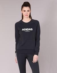 Clothing Women sweaters adidas Originals ESS ALLCAP SWT Black