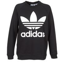 Clothing Women sweaters adidas Originals OVERSIZED SWEAT Black