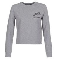 Clothing Women sweaters Philipp Plein Sport ROUND AIR SQUAT Grey