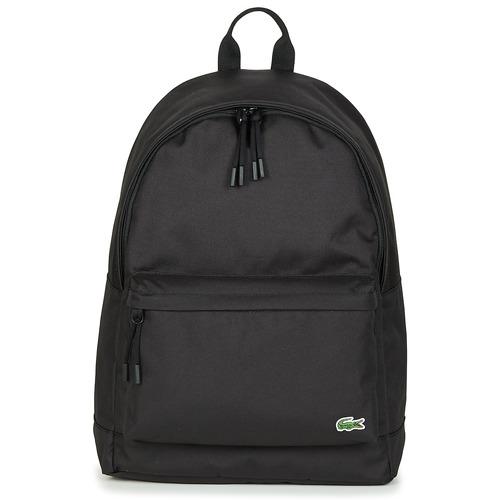 Bags Men Rucksacks Lacoste NEOCROC BACKPACK Black
