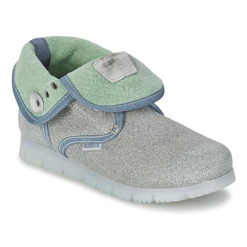 Shoes Children Mid boots Bunker LAST WALK Grey
