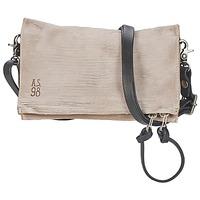 Bags Women Shoulder bags Airstep / A.S.98 LARA ECRU