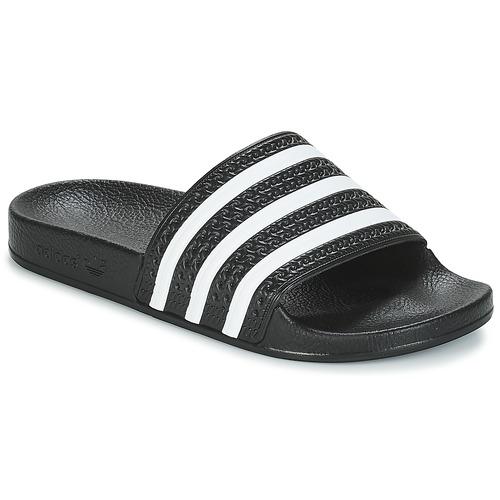 Shoes Sliders adidas Originals ADILETTE Black / White