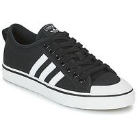 Shoes Low top trainers adidas Originals NIZZA Black / White