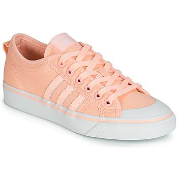 Shoes Women Low top trainers adidas Originals NIZZA W Pink