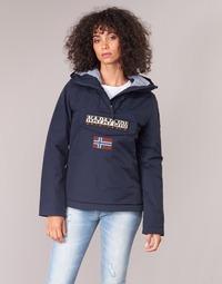 Clothing Women Parkas Napapijri RAINFOREST WINTER Marine