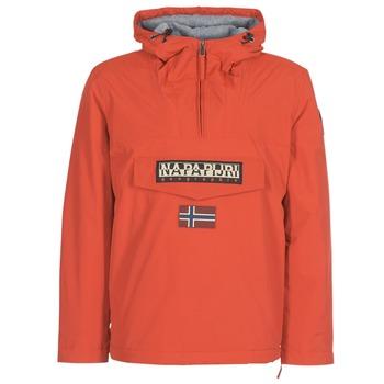 Clothing Men Parkas Napapijri RAINFOREST WINTER Orange