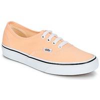 Shoes Women Low top trainers Vans AUTHENTIC Beige