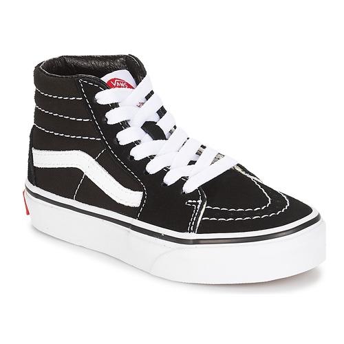 Shoes Children Hi top trainers Vans UY SK8-HI Black / White