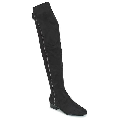 Shoes Women Thigh boots Moony Mood JESSICA Black