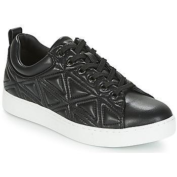 Shoes Women Low top trainers Emporio Armani DELIA Black