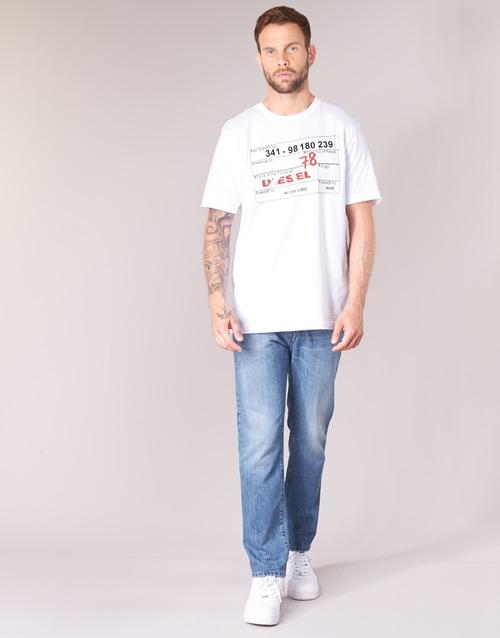 Clothing Men Straight jeans Diesel MHARKY Blue / 084uj