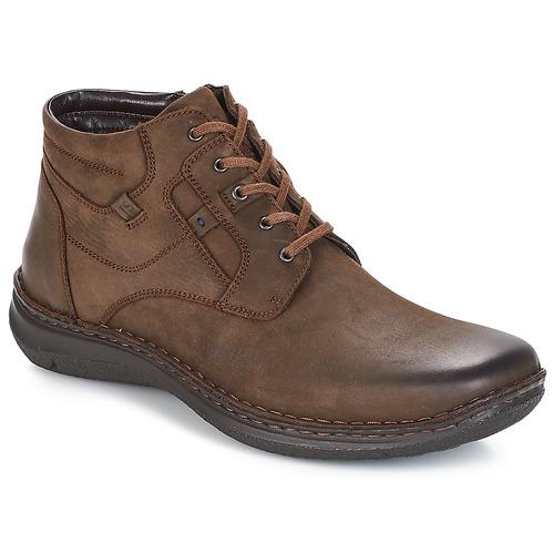 Shoes Men Mid boots Josef Seibel Anvers 35 Brown