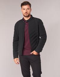 Clothing Men Jackets Guess NINIIE Black