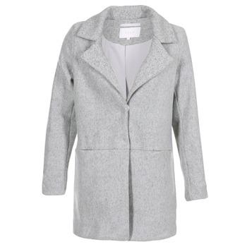 Clothing Women Coats Vila VIDORY Grey