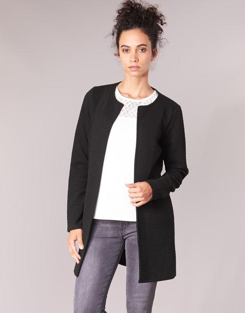 Clothing Women Jackets / Blazers Vila VINAJA LONG Black