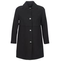 Clothing Women coats Sisley FAREDA Black