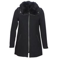 Clothing Women coats Desigual COLLINE Black