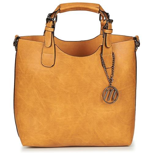 Bags Women Handbags Moony Mood EMIRA Brown / Wheat