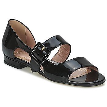 Shoes Women Sandals Moschino Cheap & CHIC LORETTA Black