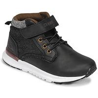 Shoes Boy Hi top trainers Kappa TELMO EV Black