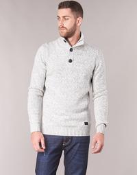 Clothing Men jumpers Petrol Industries BEKIN Grey