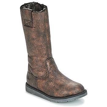 Shoes Girl High boots Mod'8 ALTANA Black / Bronze