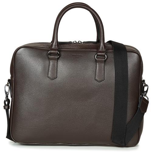 Bags Men Briefcases Hexagona ENCORE Brown