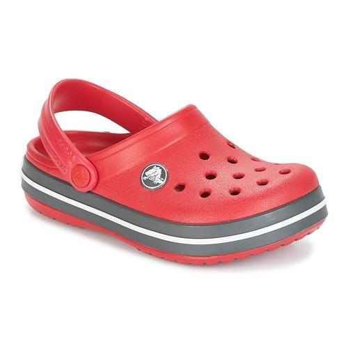 Shoes Children Clogs Crocs CROCBAND CLOG KIDS Red