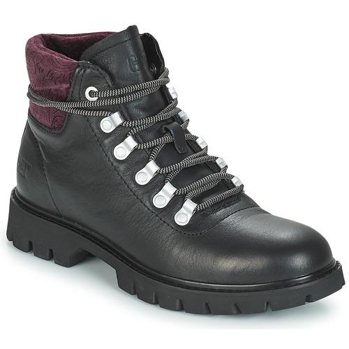 Shoes Women Ankle boots Caterpillar HANDSHAKE  black / Purple