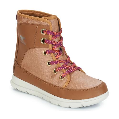 Shoes Women Snow boots Sorel SOREL EXPLORER Camel