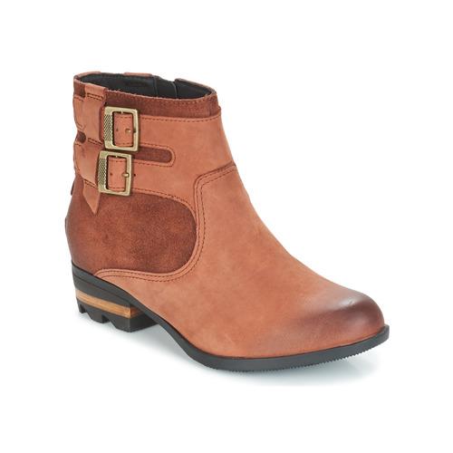 Shoes Women Ankle boots Sorel LOLLA BOOTIE Brown