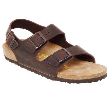 Shoes Men Sandals Birkenstock MILANO Brown