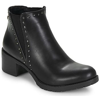 Shoes Women Ankle boots LPB Shoes LAURA Black