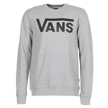 Clothing Men sweaters Vans VANS CLASSIC CREW Grey