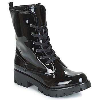 Shoes Women Mid boots Buffalo SKYLIGHT Black / Varnish