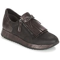 Shoes Women Low top trainers Tamaris DIVA Black