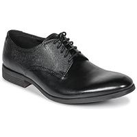 Shoes Men Derby Shoes Clarks GILMORE  black / Leather