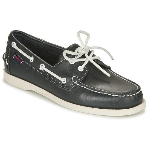 Shoes Men Boat shoes Sebago DOCKSIDES Blue