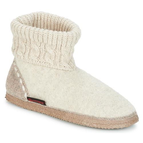Shoes Women Slippers Giesswein FREIBURG Beige